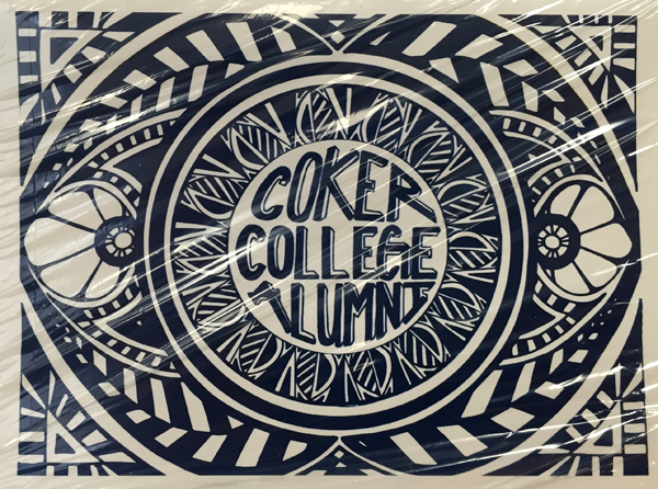 Souvenir Alumni COKER COLLEGE ALUMNI NOTE