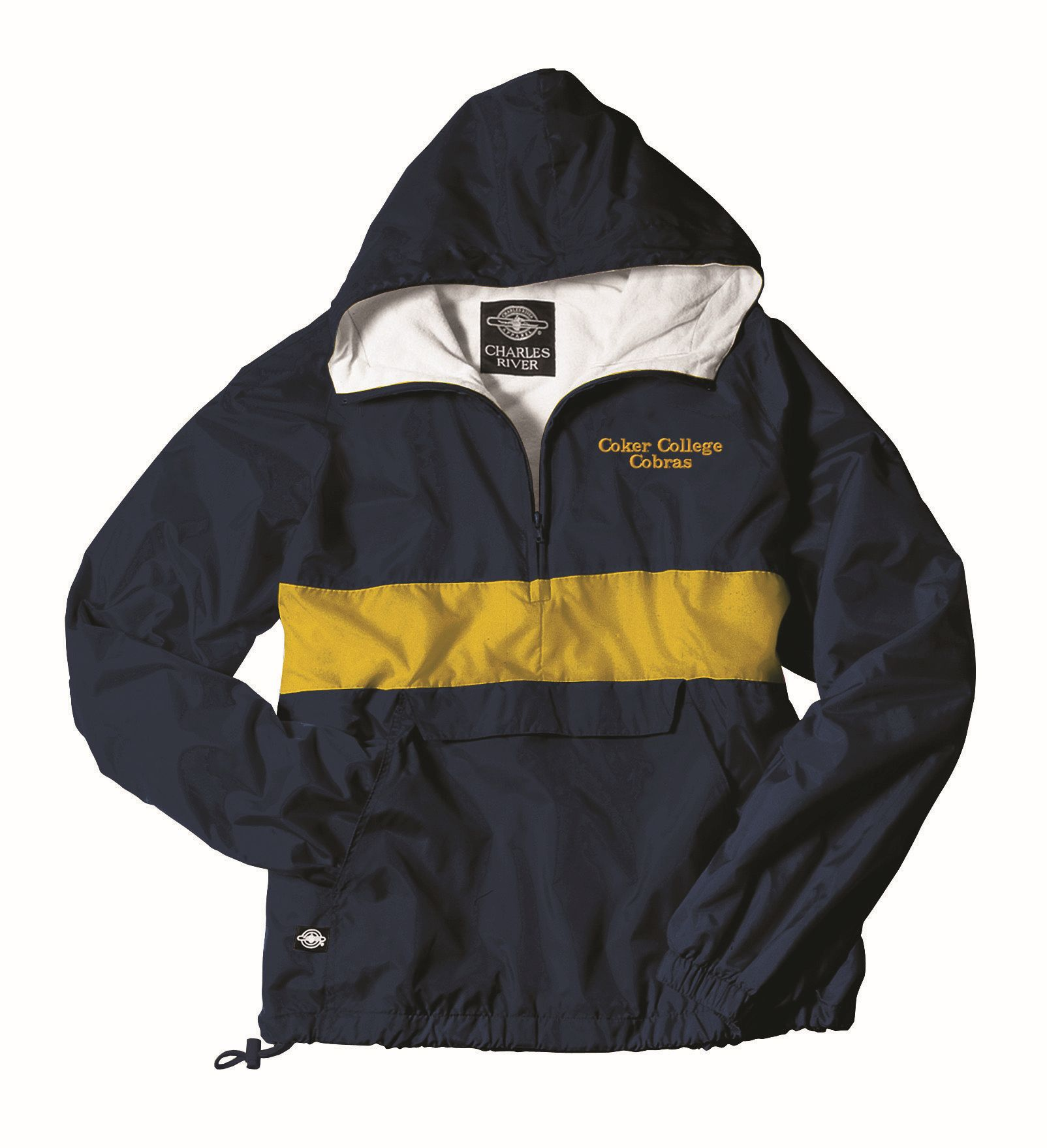 Pullover CLASSIC PULLOVER NAVY/GOLD