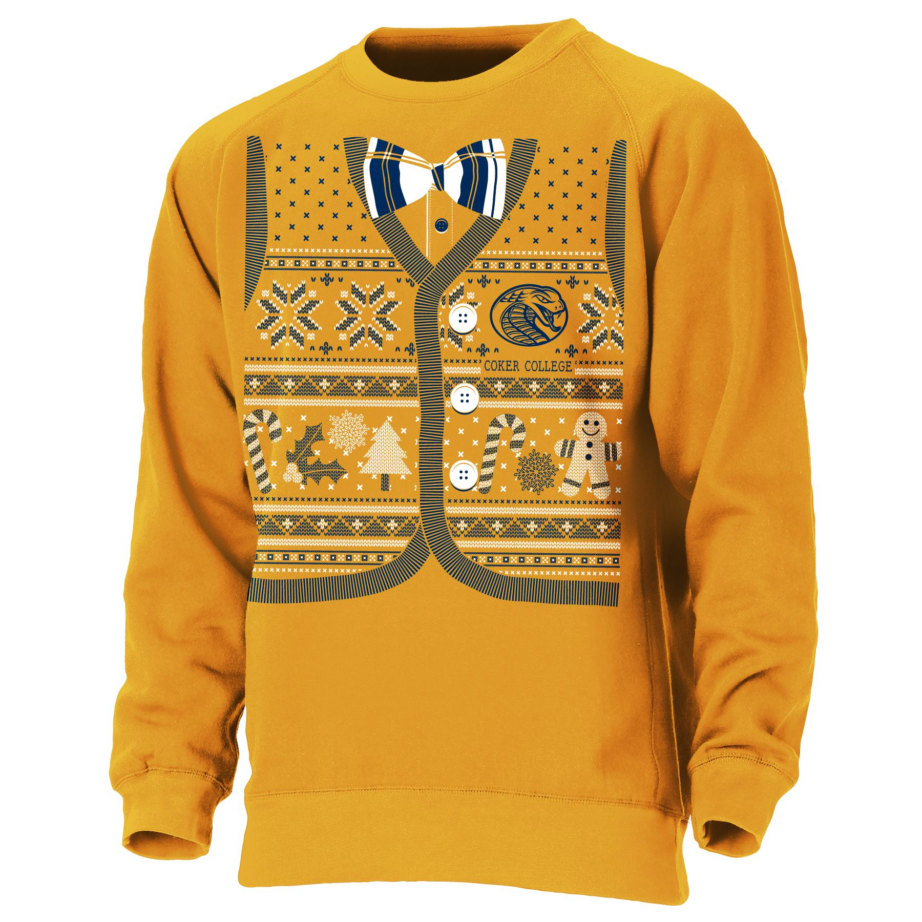 Clearance Shirt UGLY HOLIDAY SWEATER CREW NECK