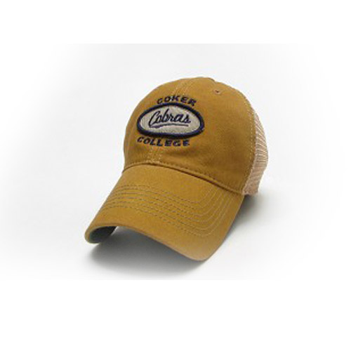 Image For Clearance Hat Cotton MENS OLD FAVORITE YELLOW TRUCKER