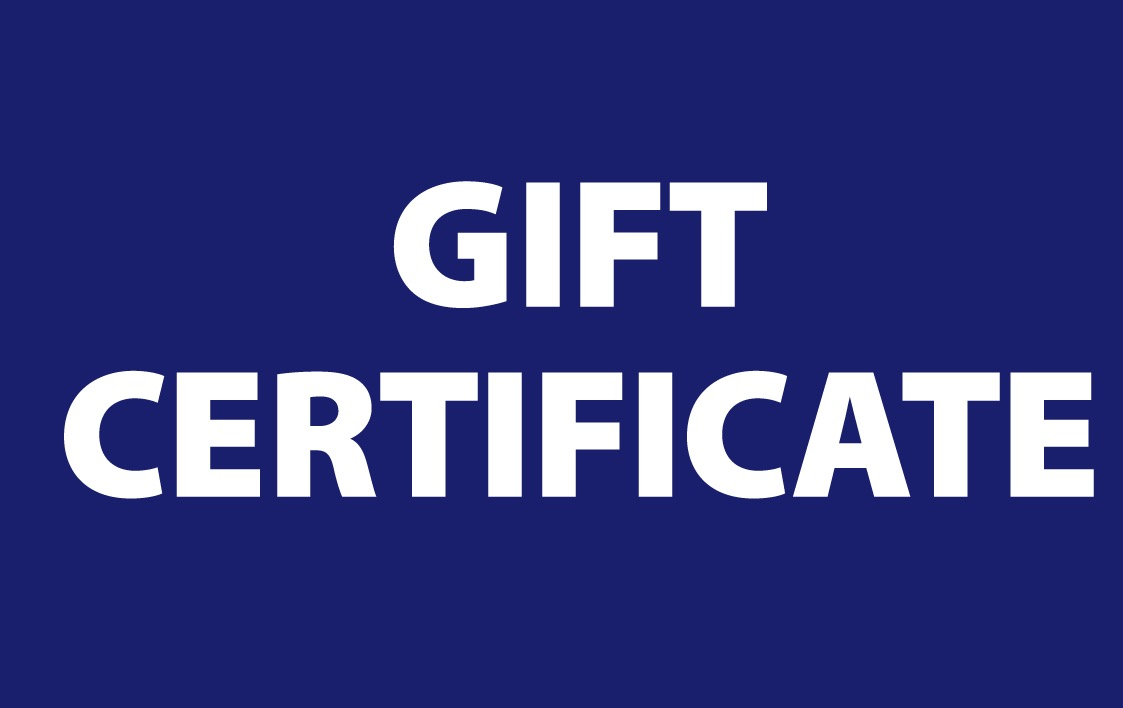Cover Image For GIFT CERTIFICATES