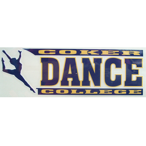 Image For Clearance Decal Sport Dance DANCE DECAL