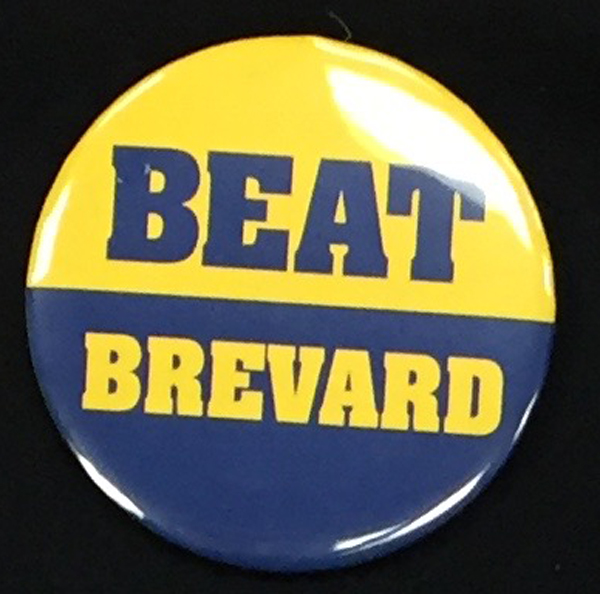 Cover Image For Clearance Button BEAT BREVARD BUTTON