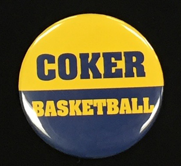 Image For Clearance Button COKER BASKETBALL BUTTON