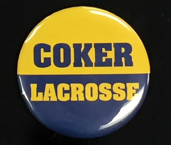 Image For Clearance Button COKER LACROSSE BUTTON