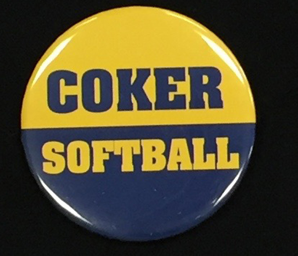 Image For Clearance Button COKER SOFTBALL BUTTON