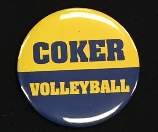 Cover Image For Button COKER VOLLEYBALL BUTTON