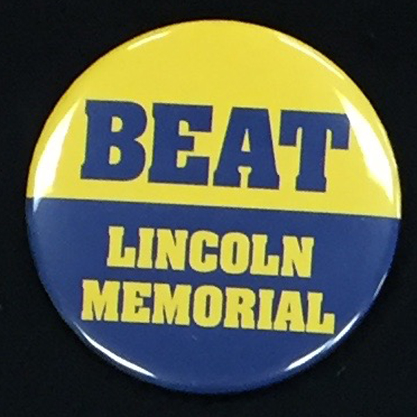 Cover Image For Button BEAT LINCOLN MEMORIAL
