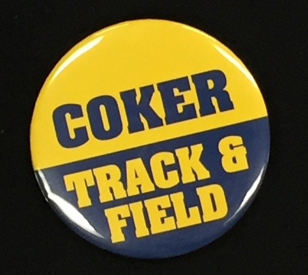 Image For Button COKER TRACK AND FIELD BUTTOM