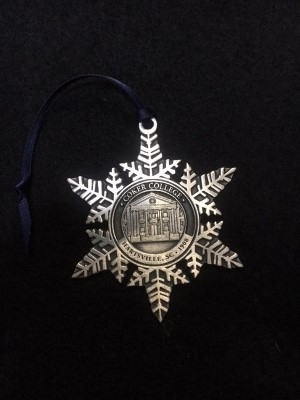 Cover Image For Souvenir Ornament PEWTER SNOWFLAKE ORNAMENT