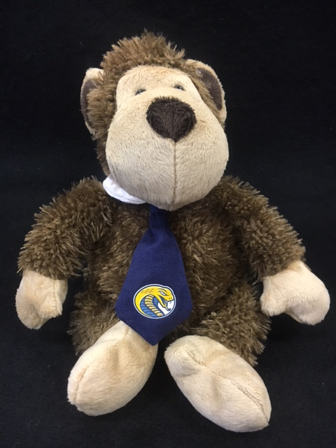 Cover Image For Souvenir Plush RINGO MONKEY W/ NECKTIE