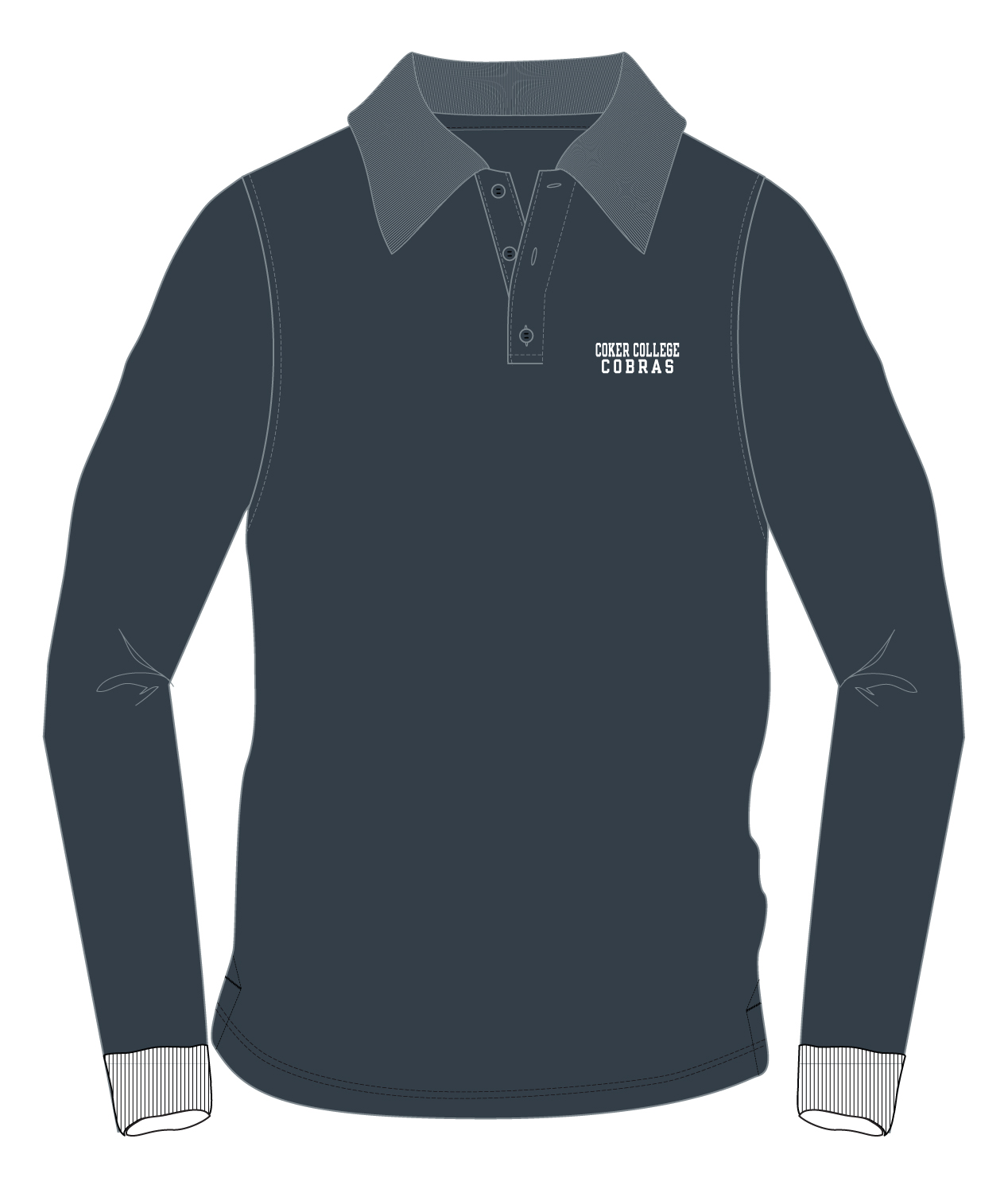 Cover Image For Shirt Polo LONG SLEEVE POLO