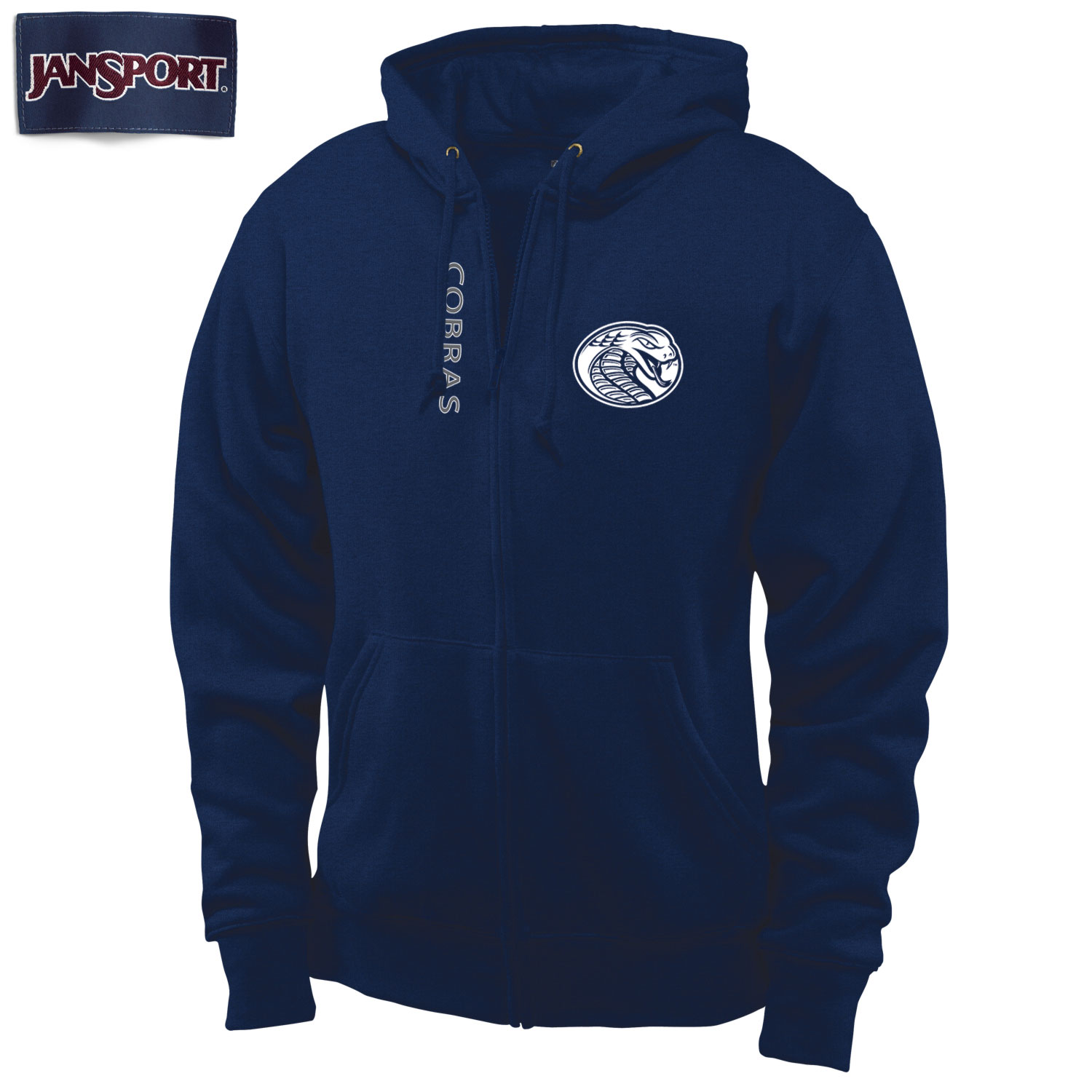 Image For Hood OMEGA FULL ZIP HOOD