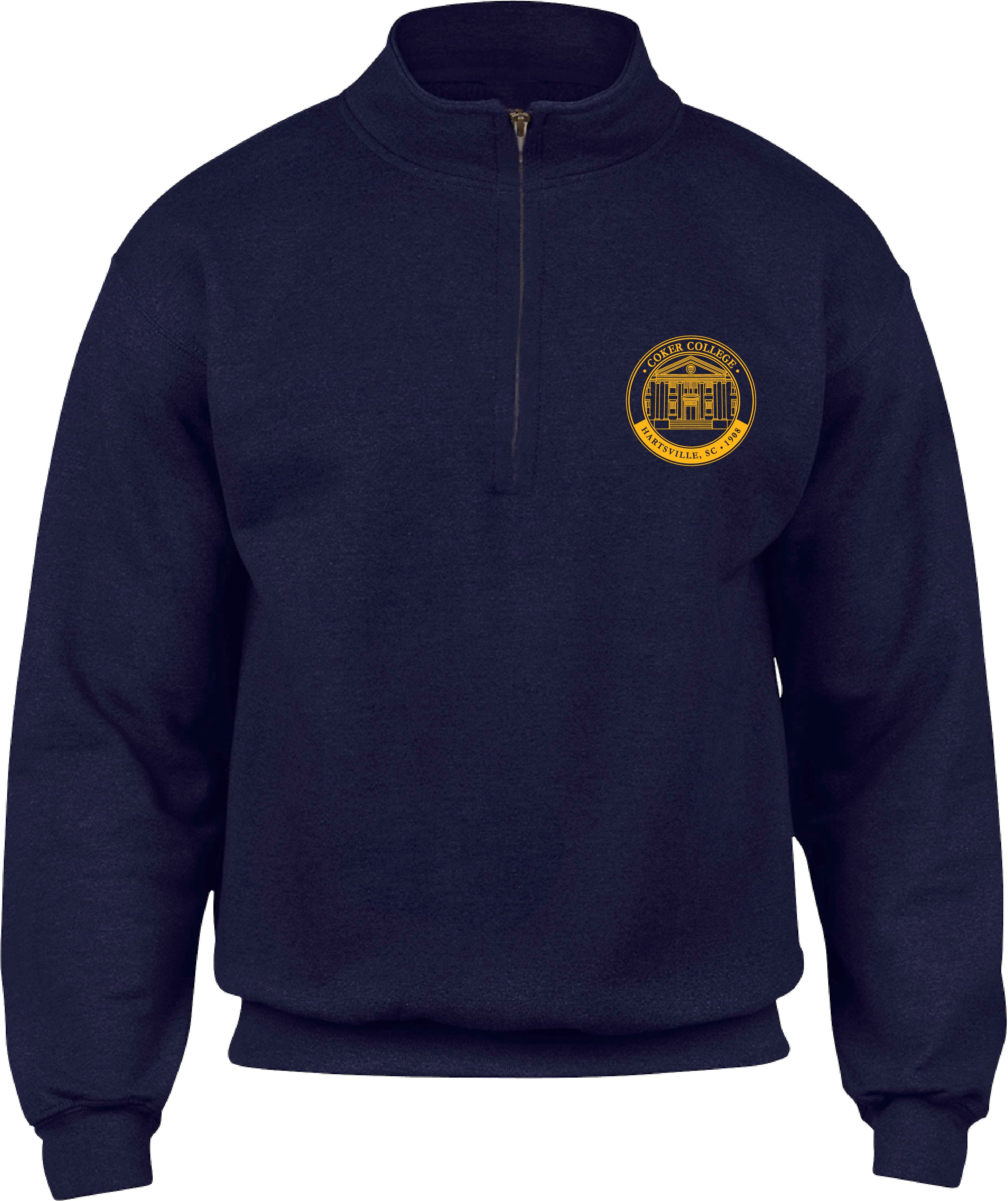 Image For 1/4 Zip COKER MEDALLION 1/4 ZIP
