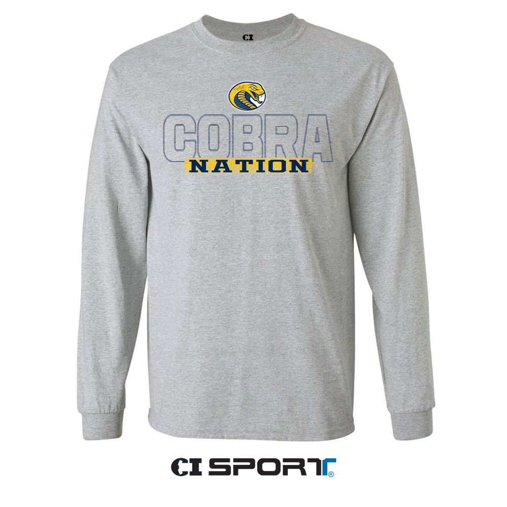 Image For Shirt Long Sleeve COKER COLLEGE COBRAS TRILL TEE