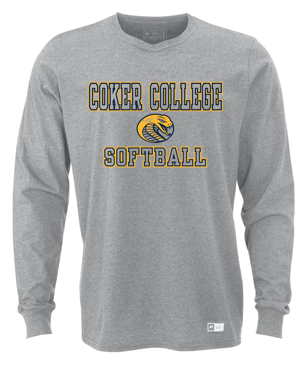 Image For SOFTBALL LONG SLEEVE TEE