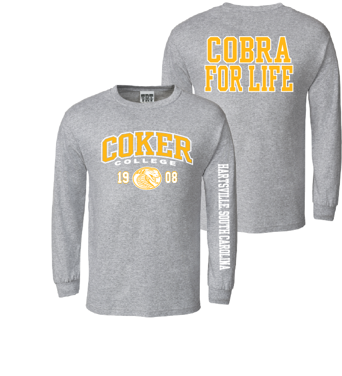 Image For Shirt Long Sleeve COBRA FOR LIFE TEE