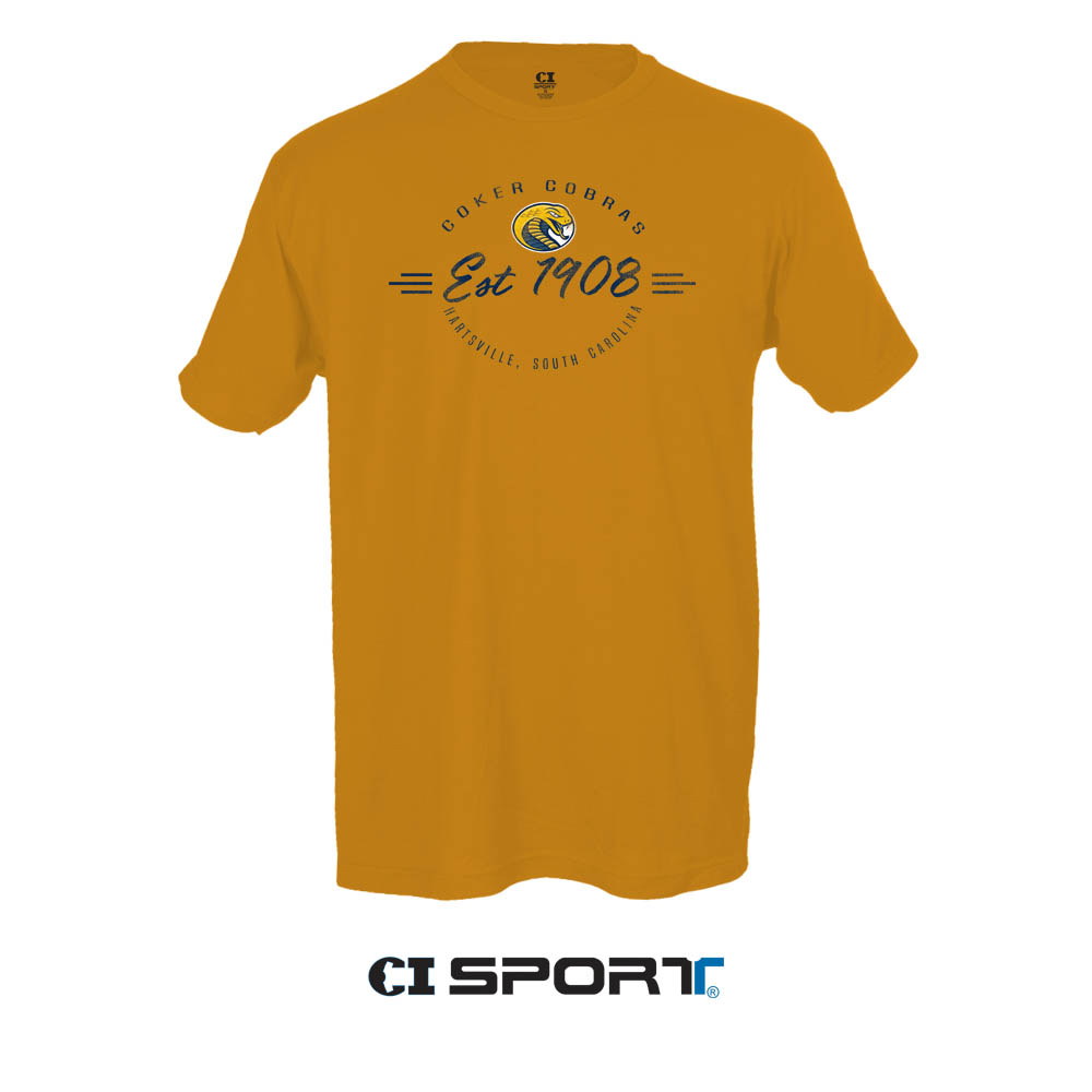 Image For Shirt Short Sleeve COKER COBRAS JERSEY TEE