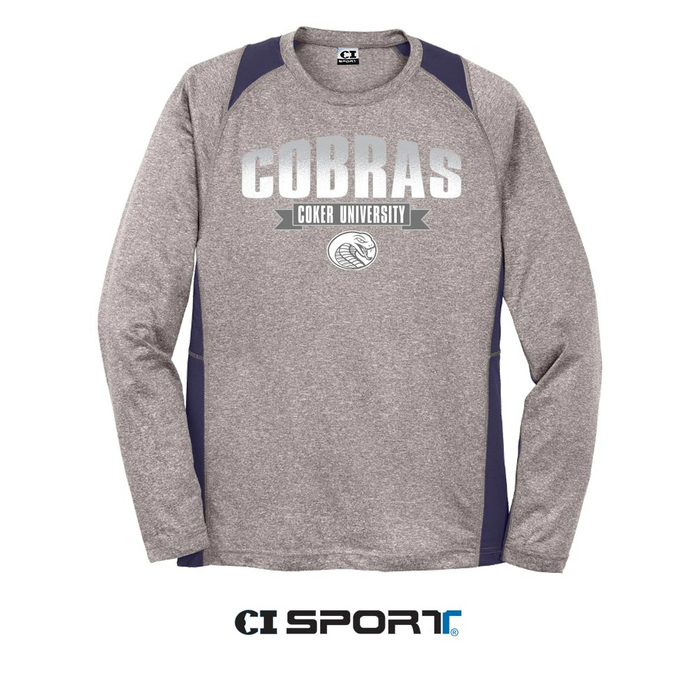 Image For Clearance Shirt Long Sleeve CU CONTENDER TEE