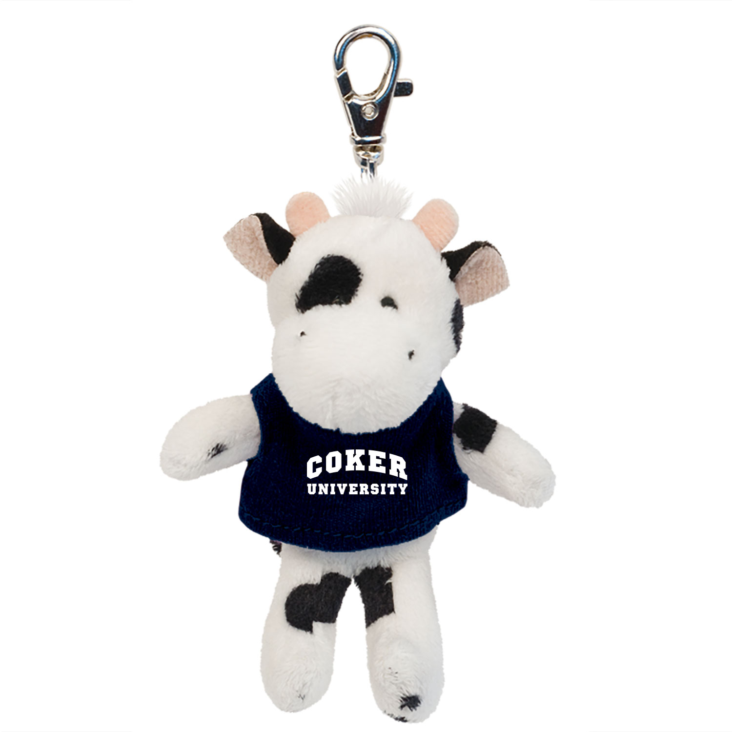 Image For Keychain KEYTAG WHITE COW