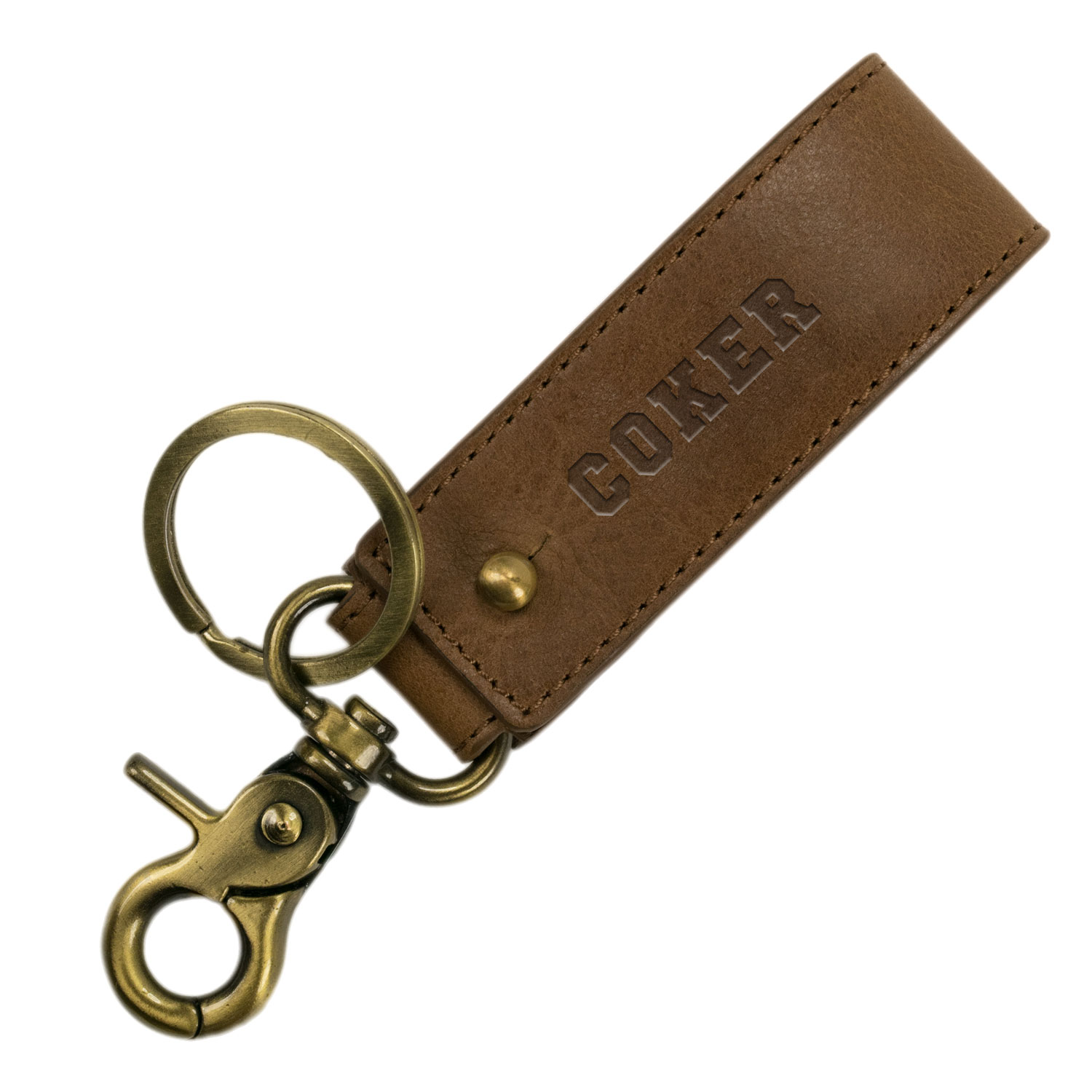 Cover Image For Keychain KEY KEEPER TAN FOLDOVER KEYCHAIN