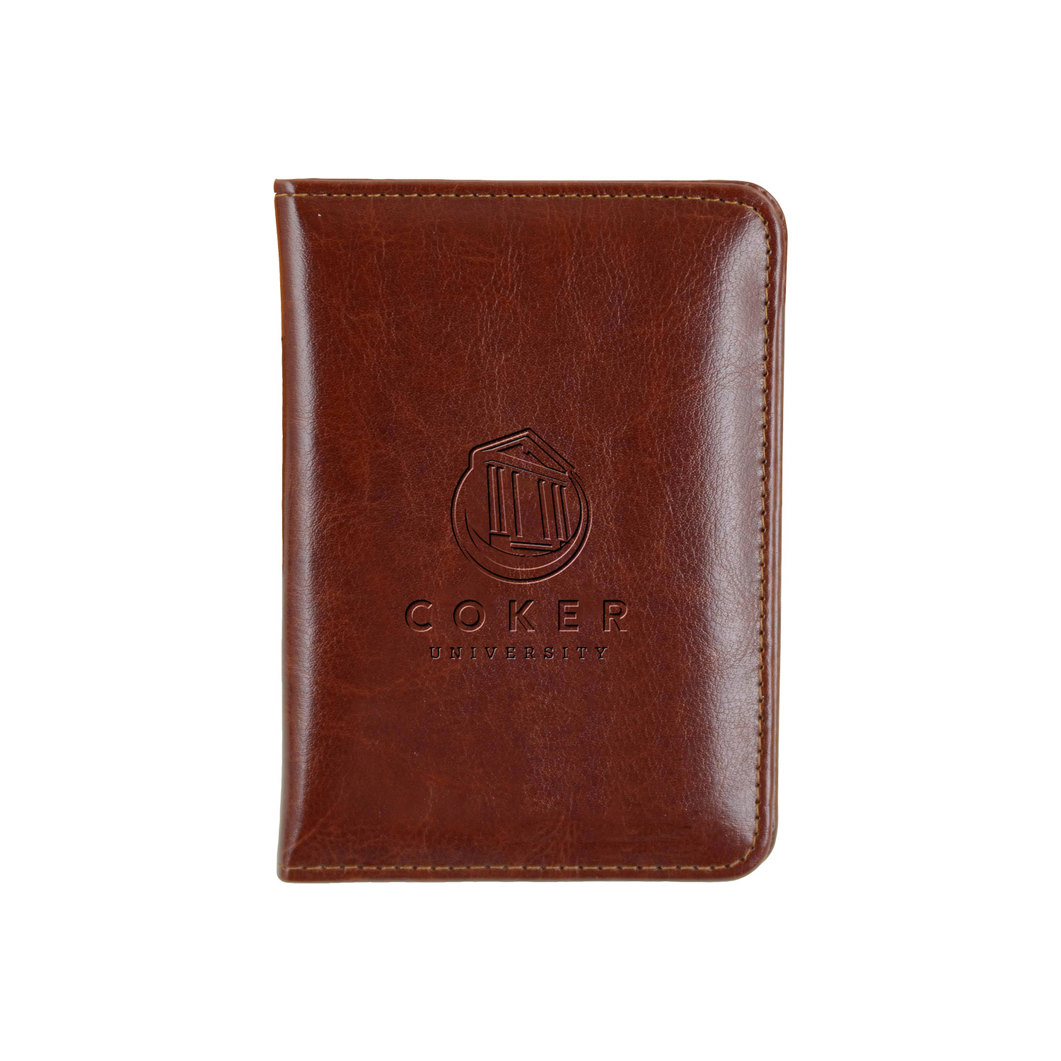 Image For Passport Cover DARK BROWN PASSPORT COVER