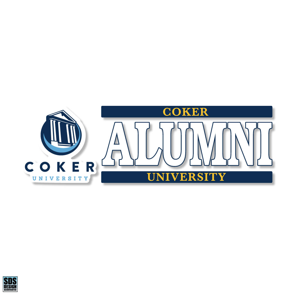 Cover Image For Decal Alumni COKER UNIVERSITY ALUMNI DECAL
