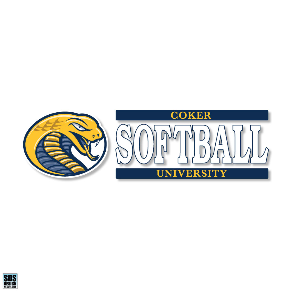Image For Decal Sport CU SOFTBALL DECAL