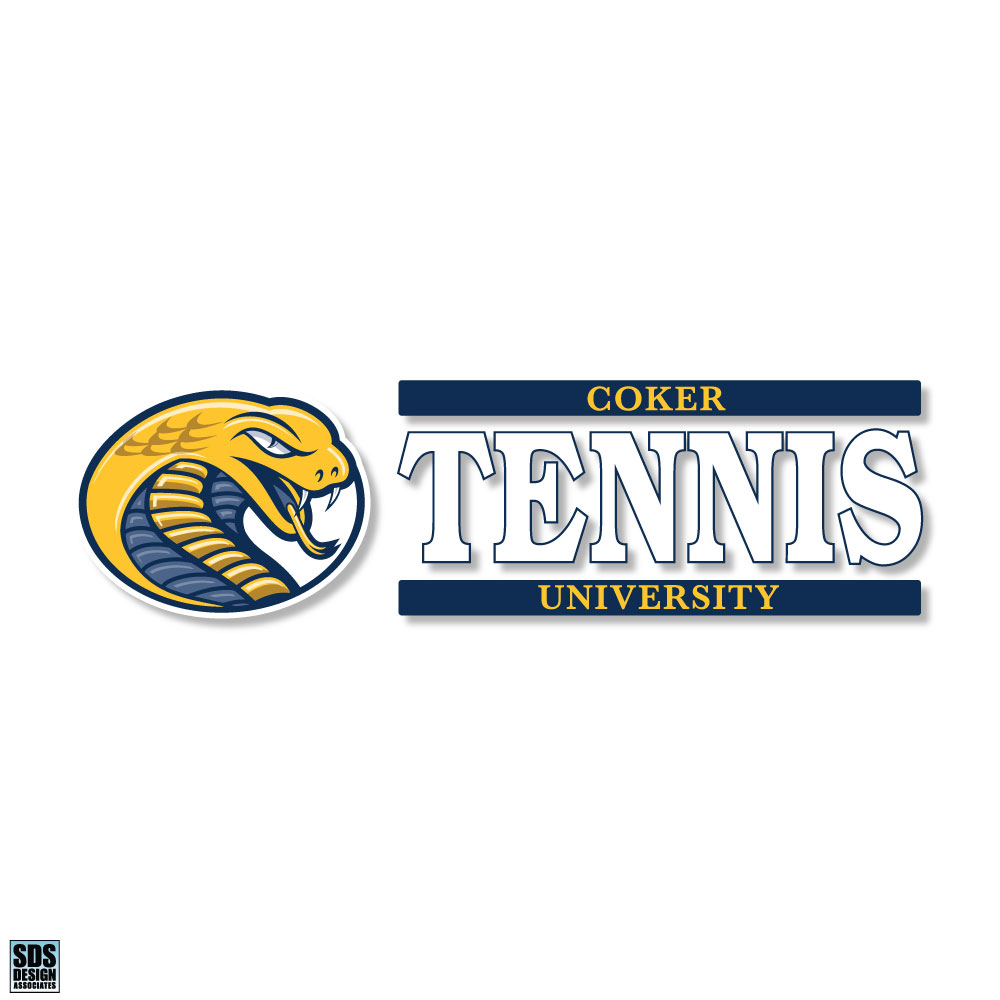 Image For Decal Sport CU TENNIS DECAL