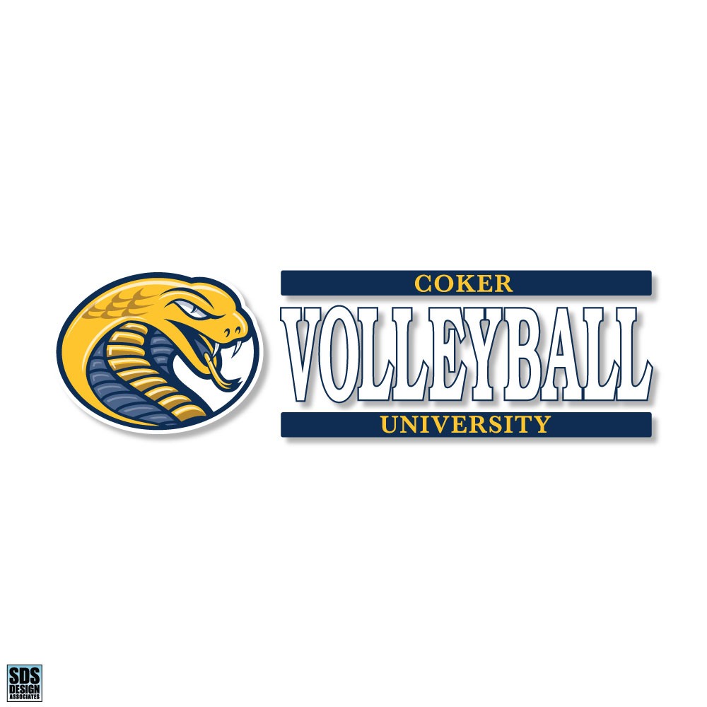 Cover Image For Decal Sport CU VOLLEYBALL DECAL