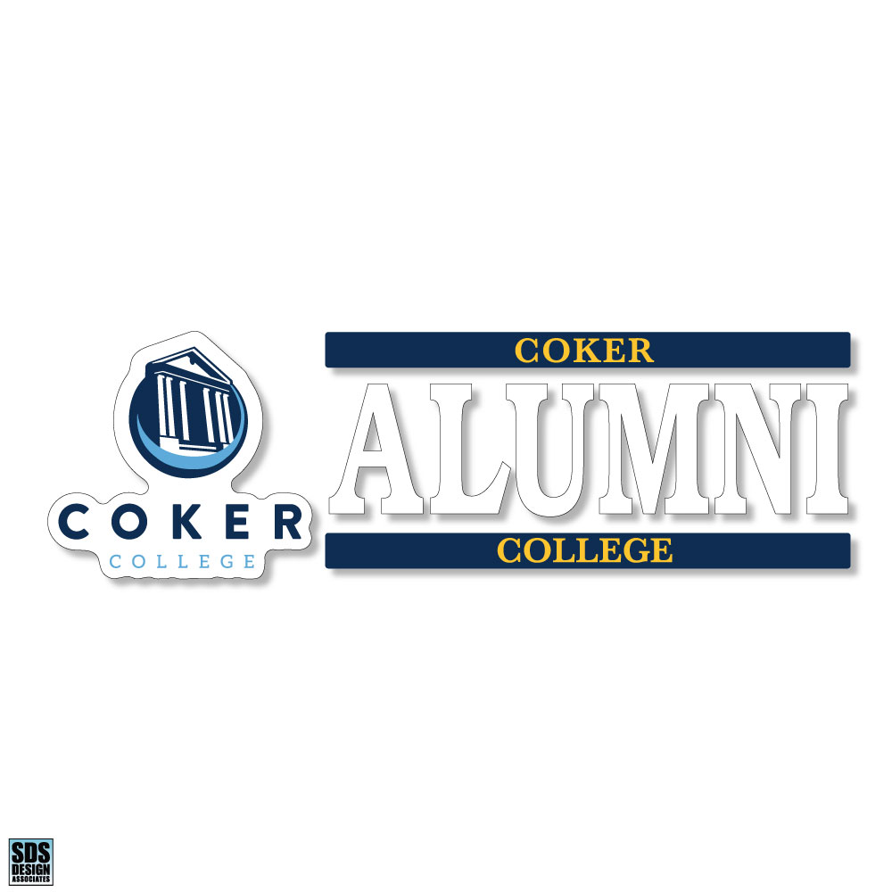 Cover Image For Decal Alumni COKER COLLEGE ALUMNI DECAL