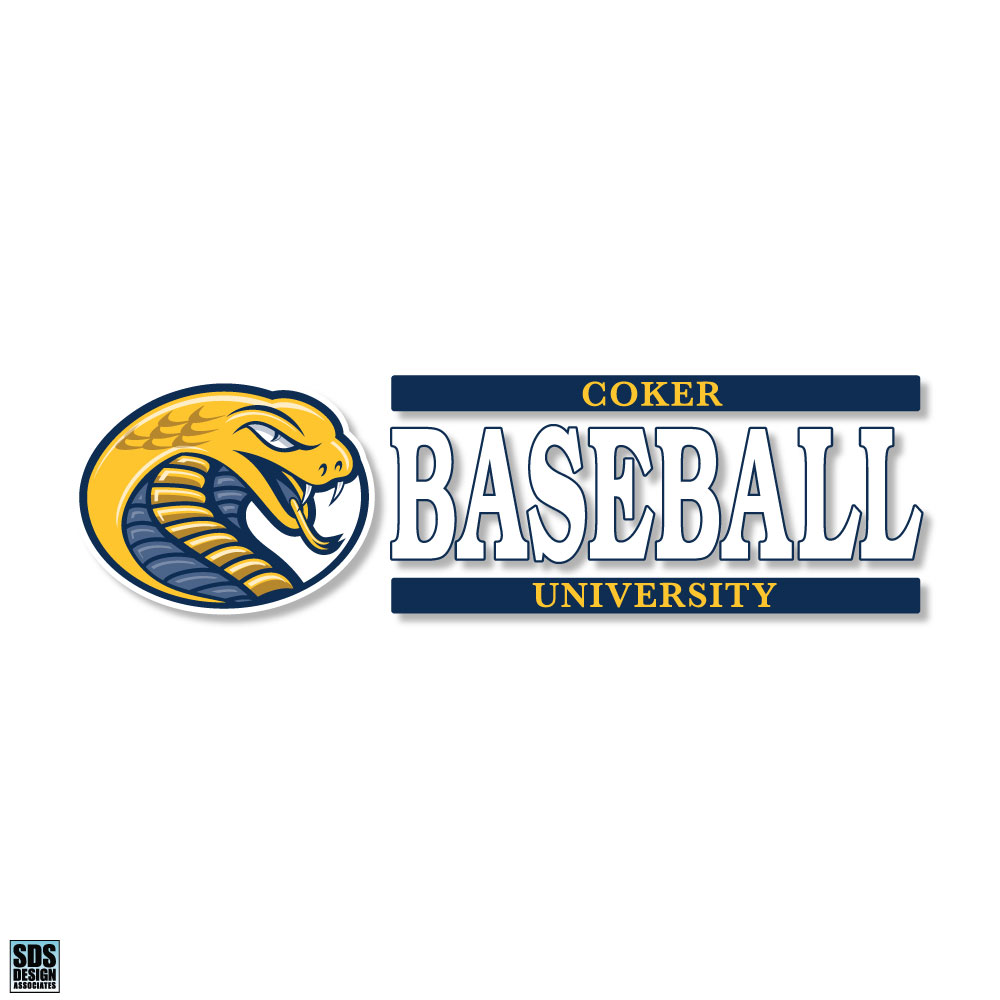 Cover Image For Decal Sport CU BASEBALL DECAL