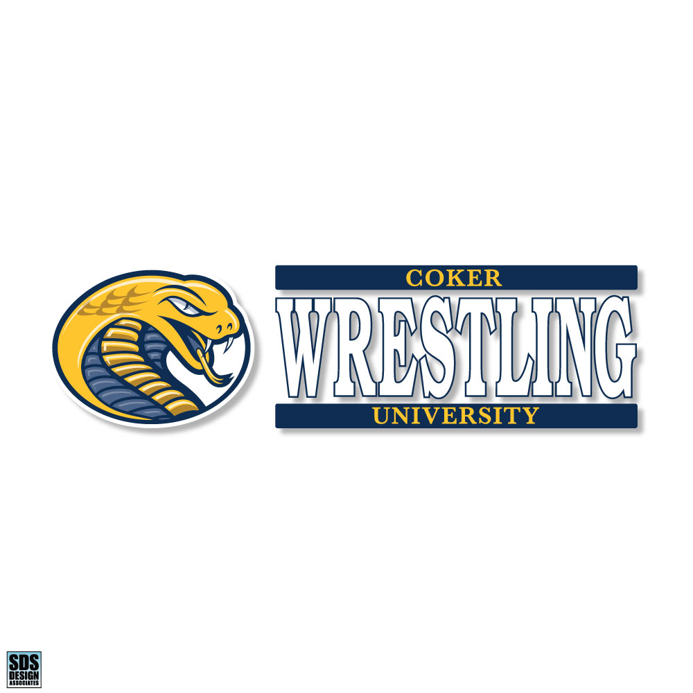 Image For Decal Sport CU WRESTLING DECAL