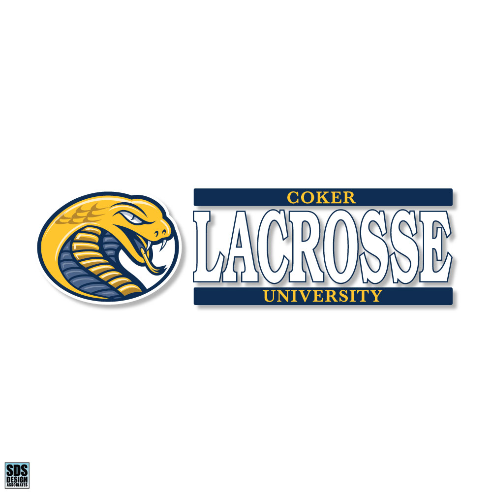 Cover Image For Decal Sport CU LACROSSE DECAL