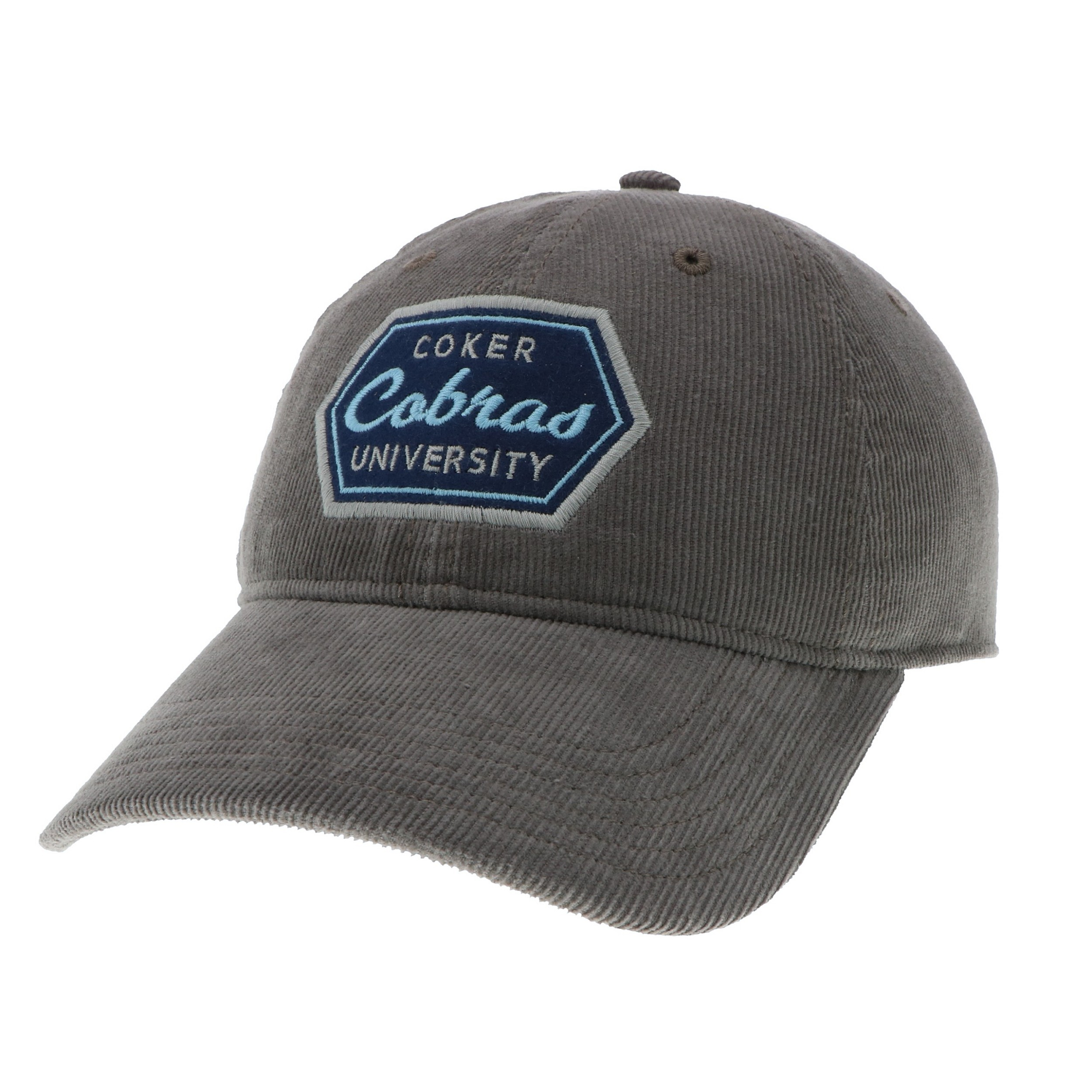 Cover Image For Hat Cotton CORDUROY HAT GREY COBRAS
