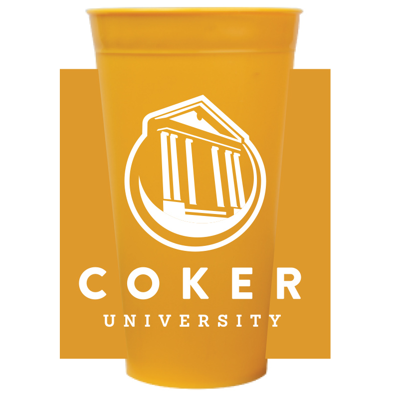Image For Drinkware 22OZ YELLOW STADIUM CUP