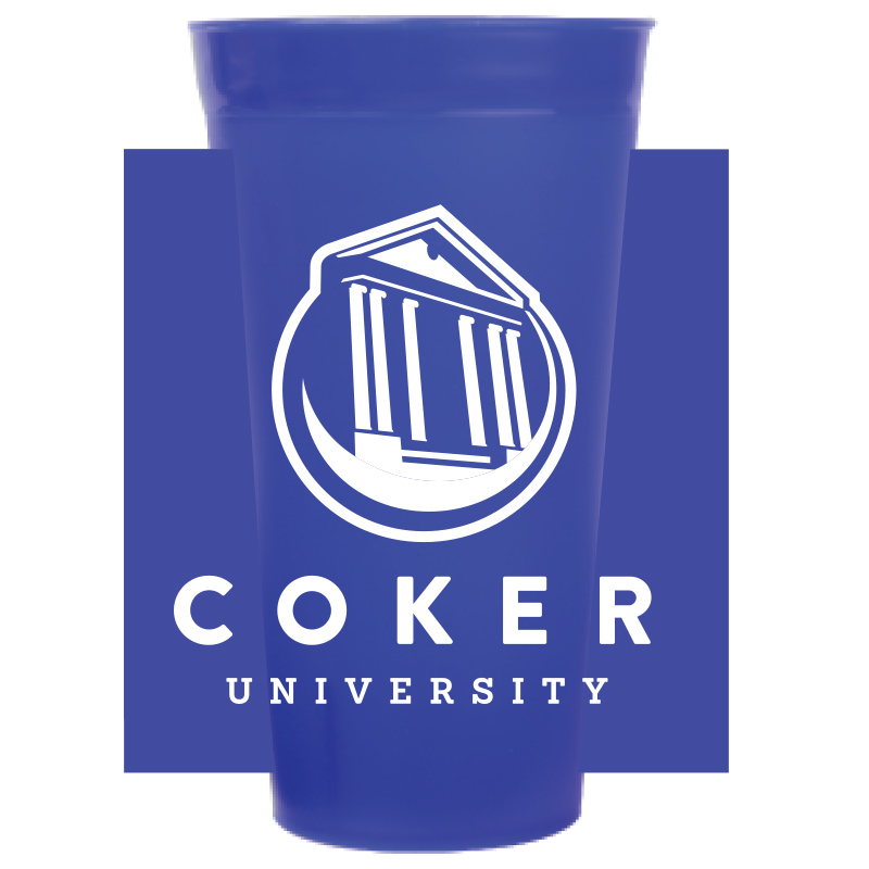 Image For Drinkware 22OZ NAVY STADIUM CUP
