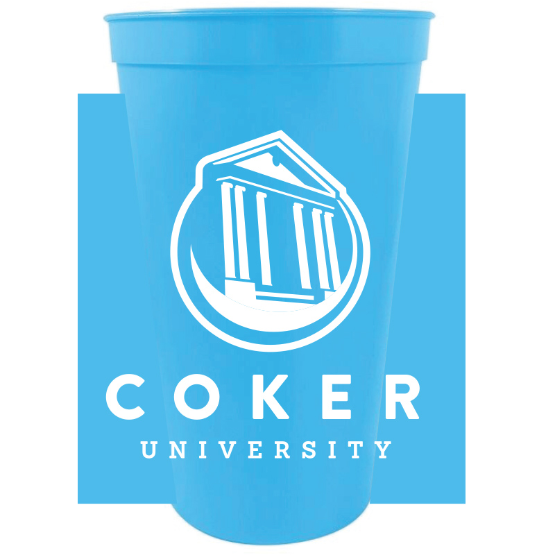 Image For Drinkware 22OZ LIGHT BLUE STADIUM CUP
