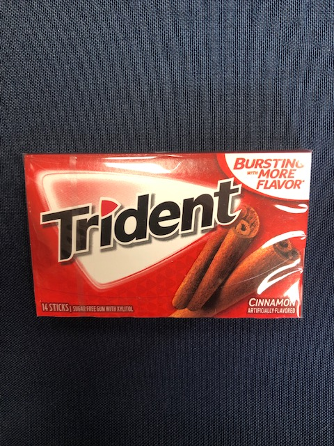 Cover Image For Gum TRIDENT CINNAMON