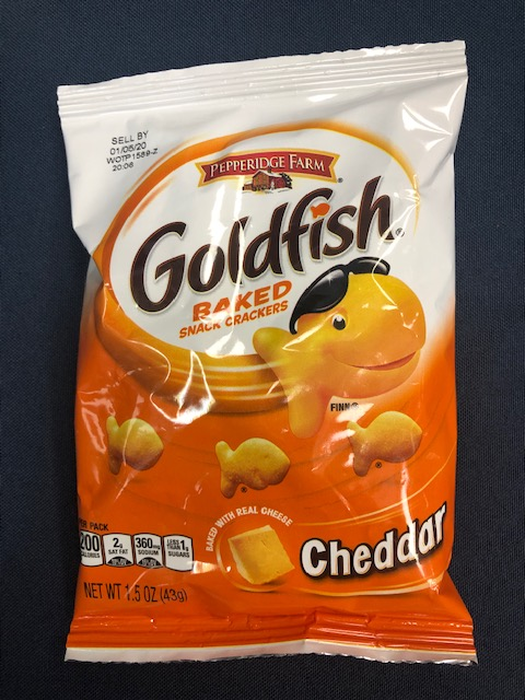 Image For Snack GOLDFISH CRACKERS