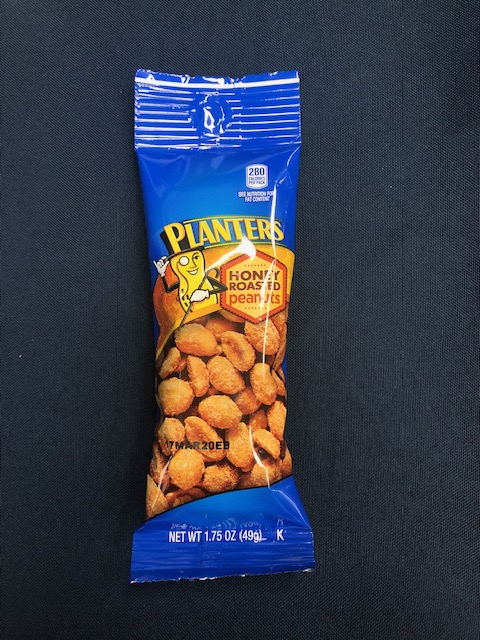 Image For Snack HONEY ROASTED PEANUTS