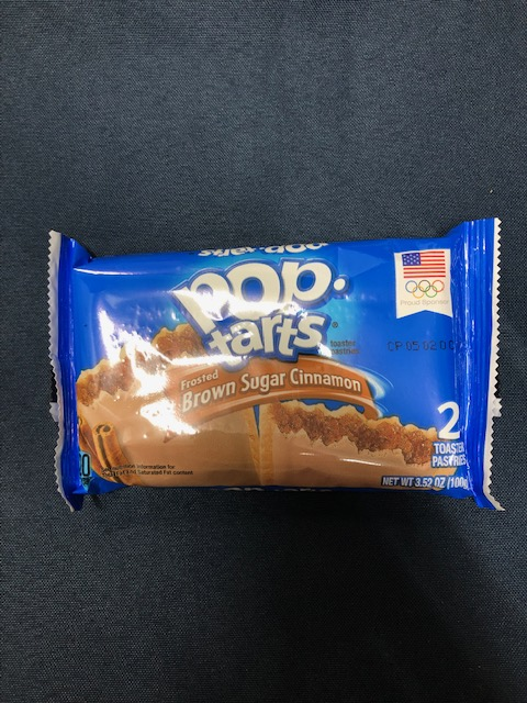 Image For Snack POPTARTS BROWN SUGAR CINNAMON