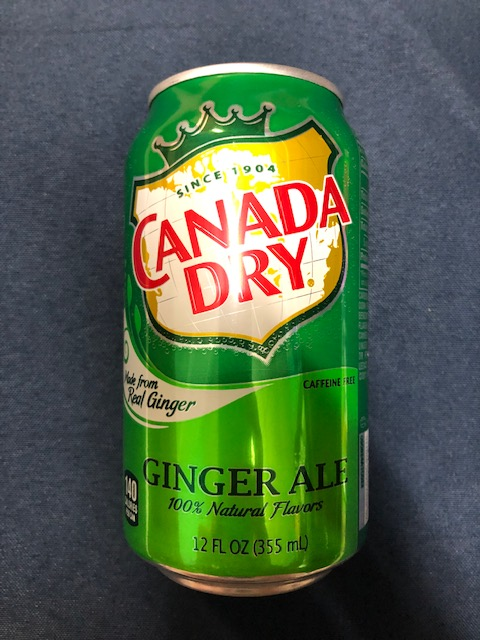 Image For Drink CANADA DRY GINGER ALE 12 FL OZ