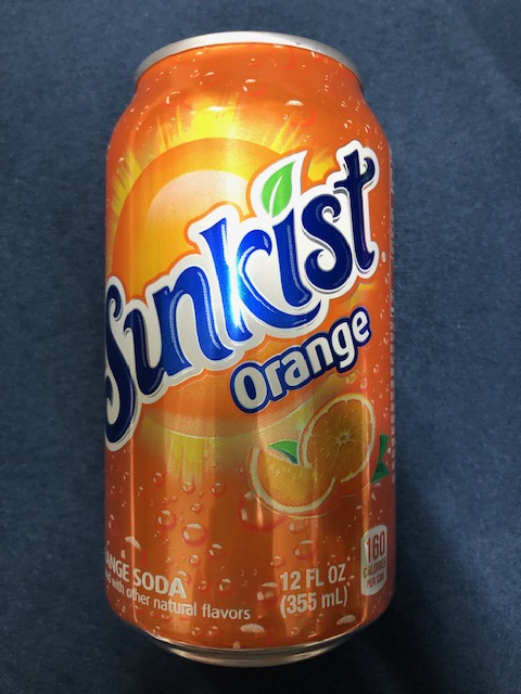 Image For Drink SUNKIST ORANGE 12 OZ.