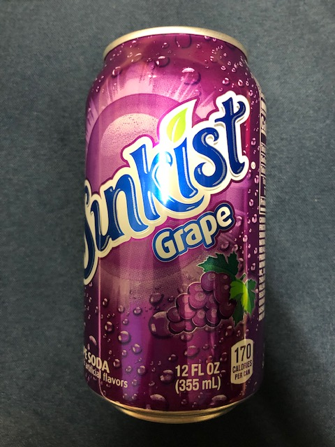 Image For Drink SUNKIST GRAPE 12 FL OZ