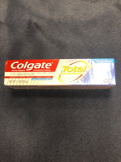 Image For COLGATE TOTAL WHITENING TOOTHPASTE 1.4 OZ