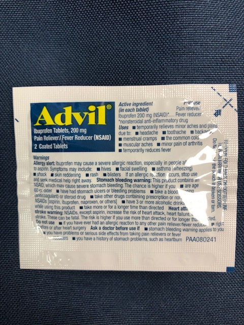 Image For ADVIL INDIVIDUAL 2 PACK