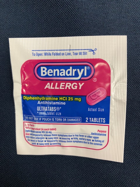 Image For BENADRYL INDIVIDUAL 2 PACK