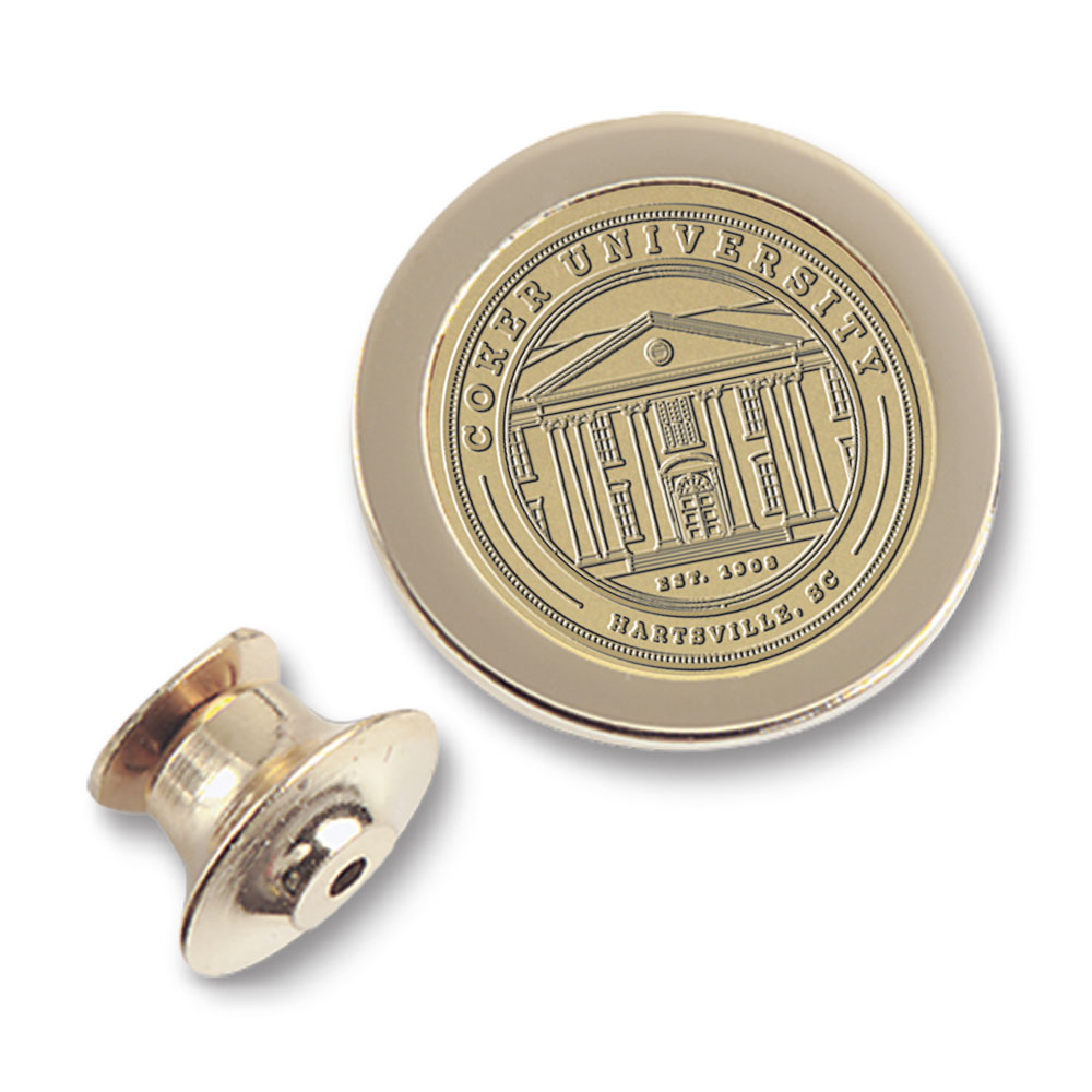 Image For Gift COKER UNIVERSITY LAPEL PIN BRASS
