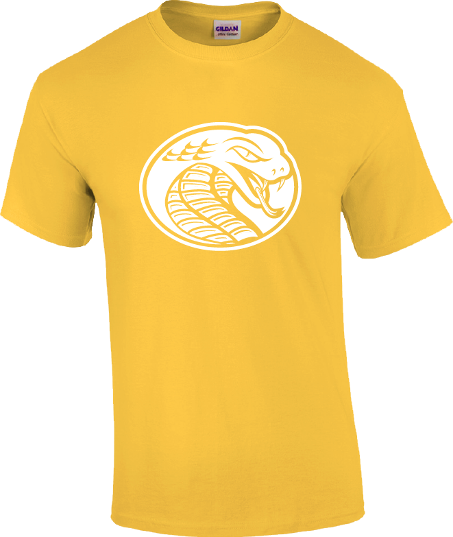 Image For Shirt Short Sleeve BRIGHT COBRA HEAD TEE